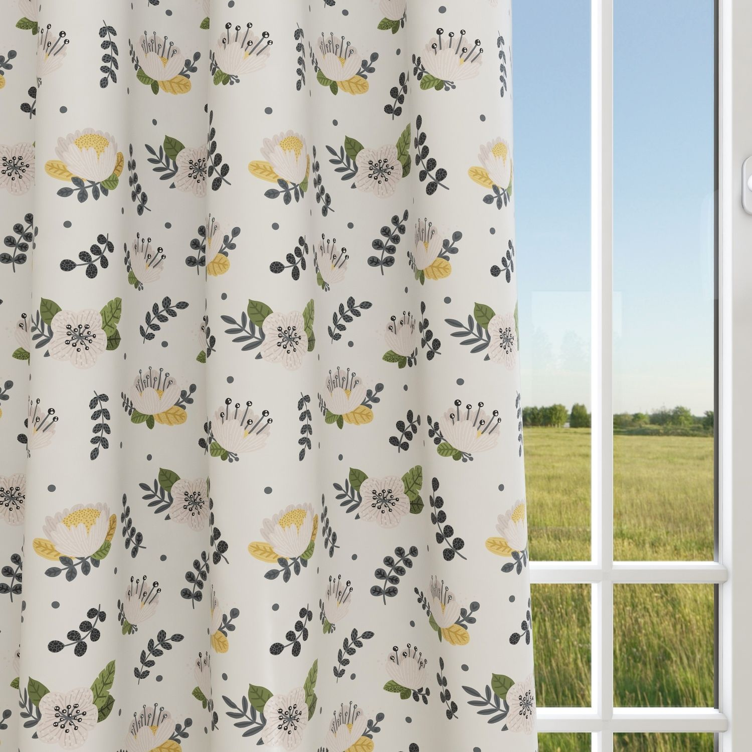 Kids & Nursery Blackout Curtains - Full Bloom
