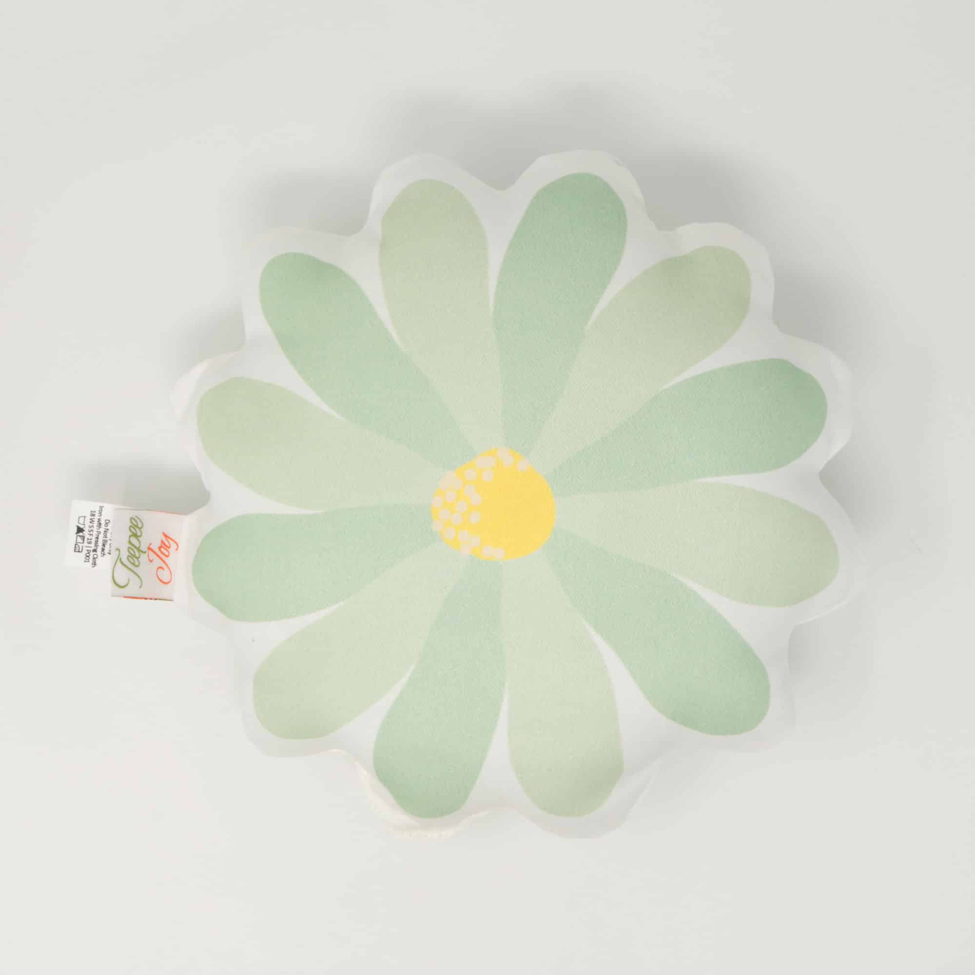 Blossom Power - Daisy Throw Pillow
