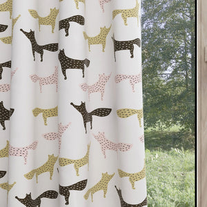 Fox Kids & Nursery Blackout Curtains - It's a Howl-iday!