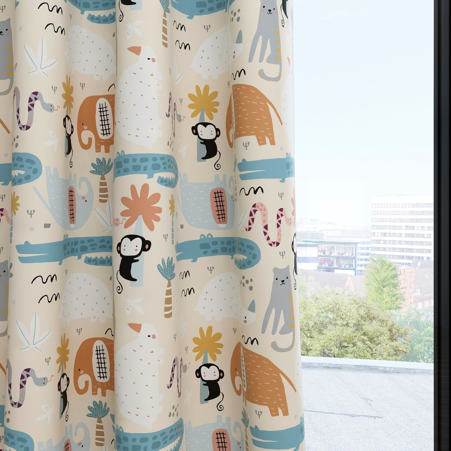 Jungle Kids & Nursery Blackout Curtains - Jungle Paradise