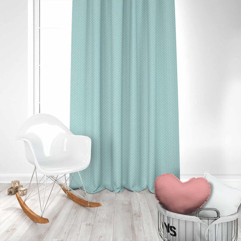 Mini Dot Canal Kids Curtains