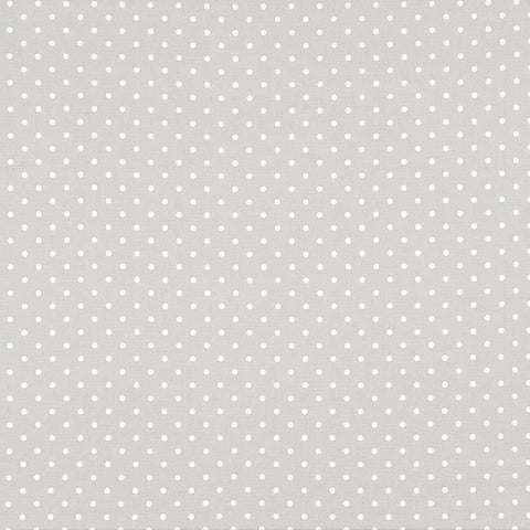 Mini Dot French Gray White [Gray043]
