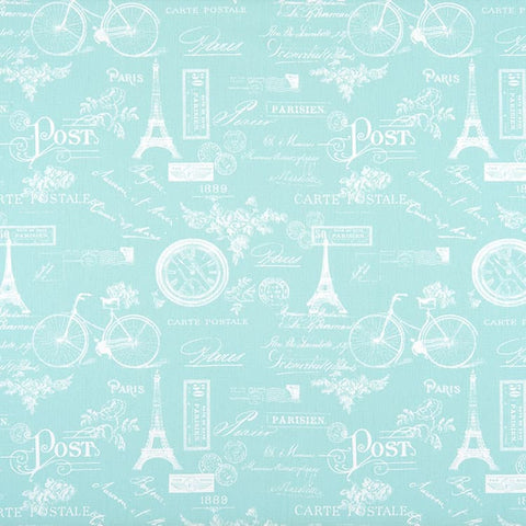 Paris Canal Twill Kids Curtains