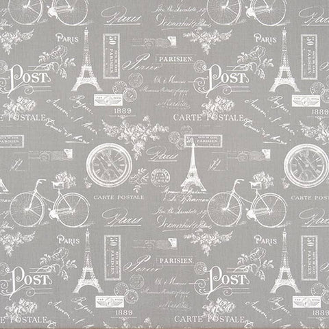 Paris Storm Twill Kids Curtains