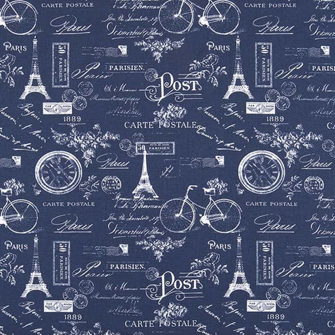 Paris Vintage Indigo [Blue067]