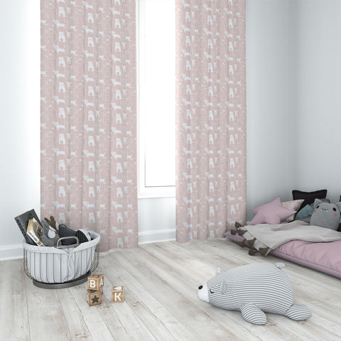 Pedigree Blush Kids Curtains