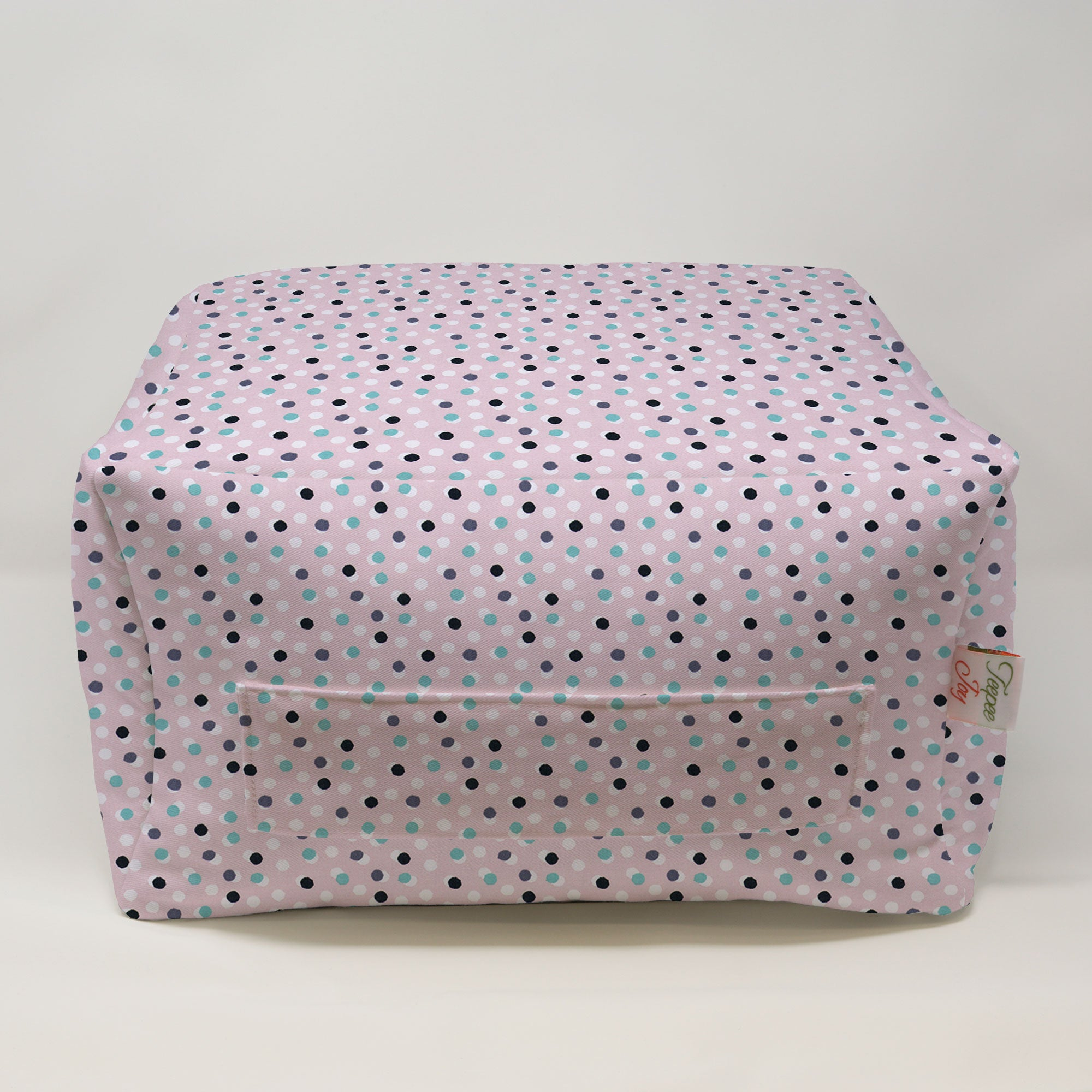 Kids Pouf - Free Dots English