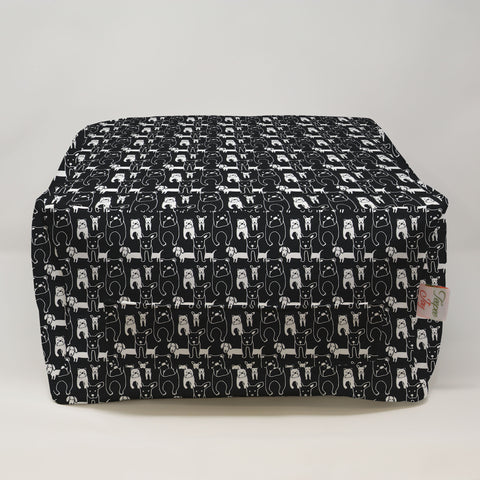 Kids Pouf - Pedigree Black