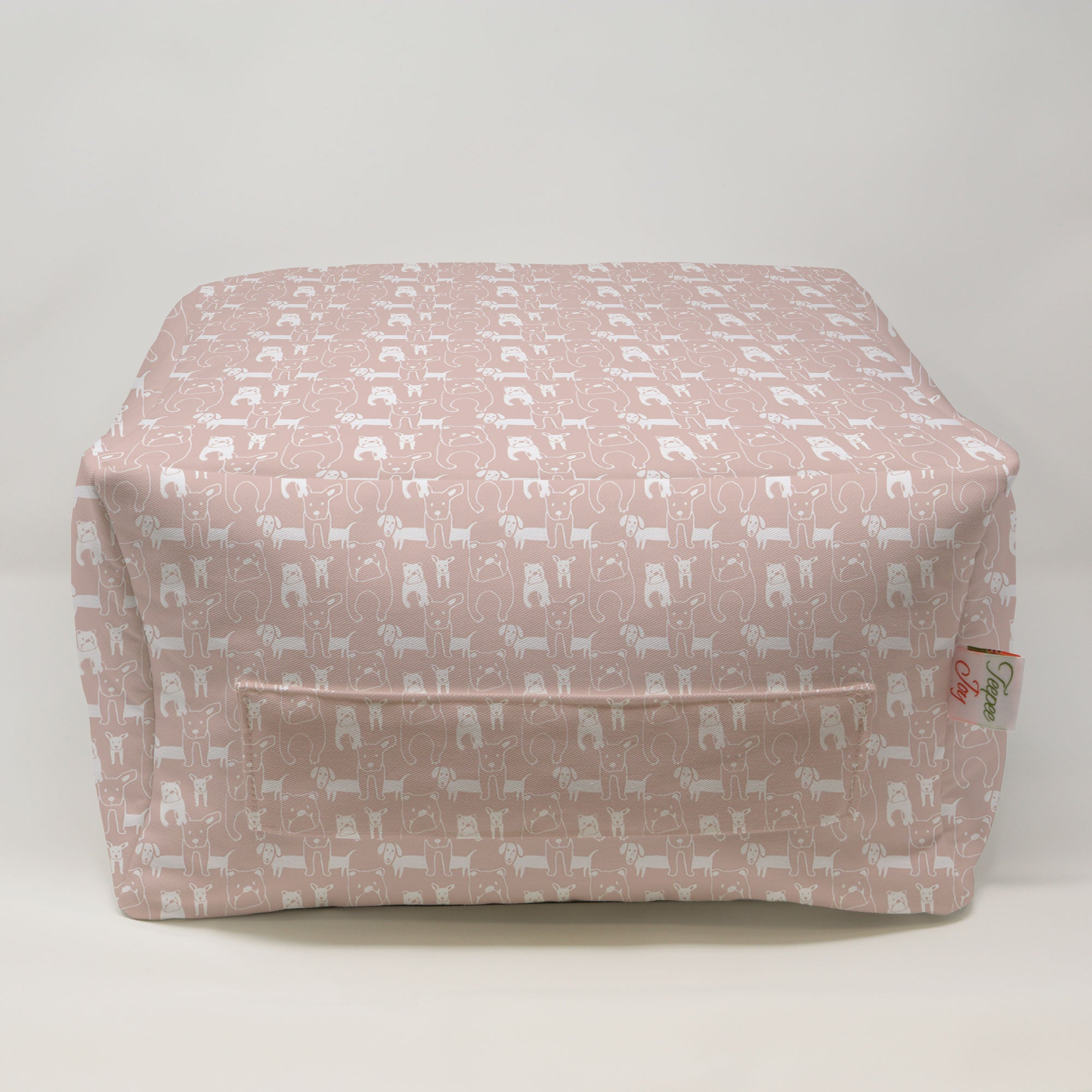 Kids Pouf - Pedigree Blush