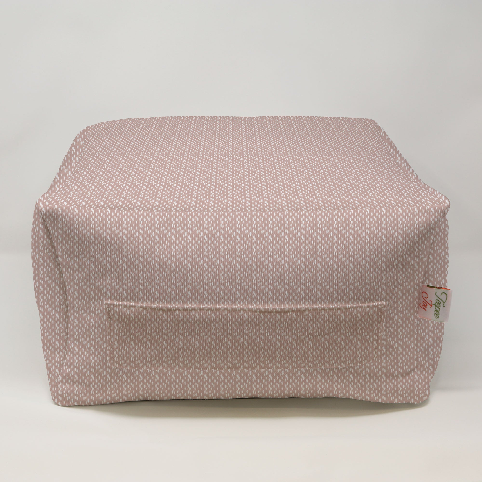 Kids Pouf - Riverbed Blush Drake
