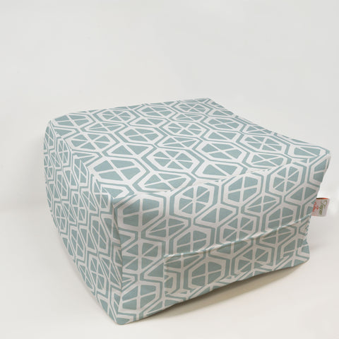 Kids Pouf - Aiden Spa Blue