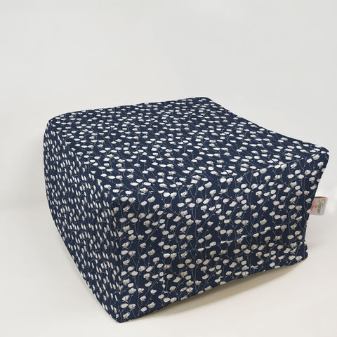 Kids Pouf - Cotton Belt Vintage Indigo