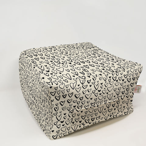 Kids Pouf - Lovely Black Macon