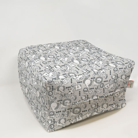 Kids Pouf - Mini Babies French Gray