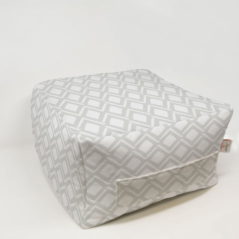 Kids Pouf - Roman French Gray