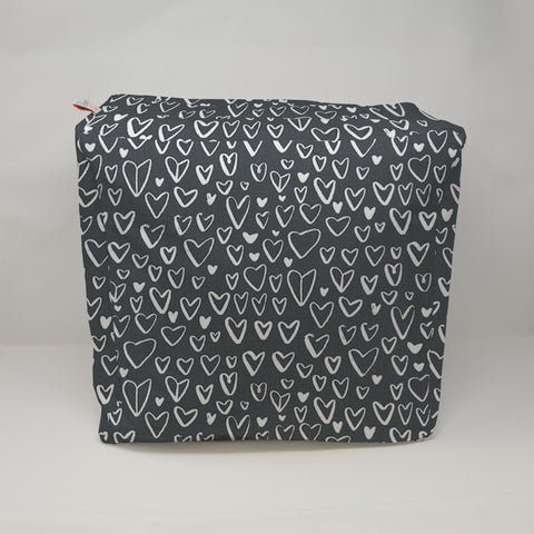 Kids Pouf - Lovely Black Flame
