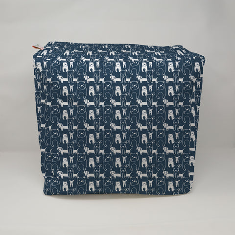 Kids Pouf - Pedigree Italian Denim