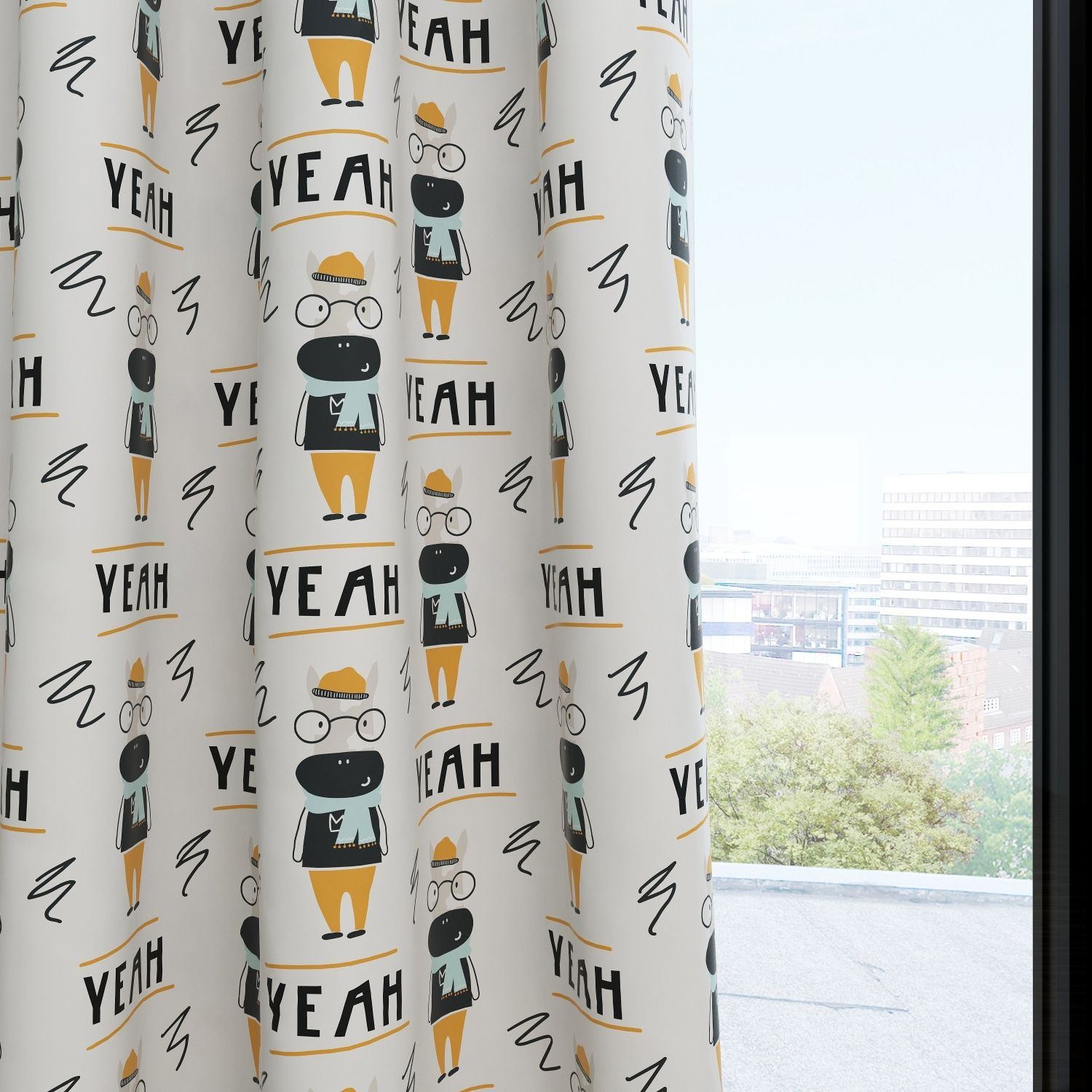 Cow Kids & Nursery Blackout Curtains - Scarf Season