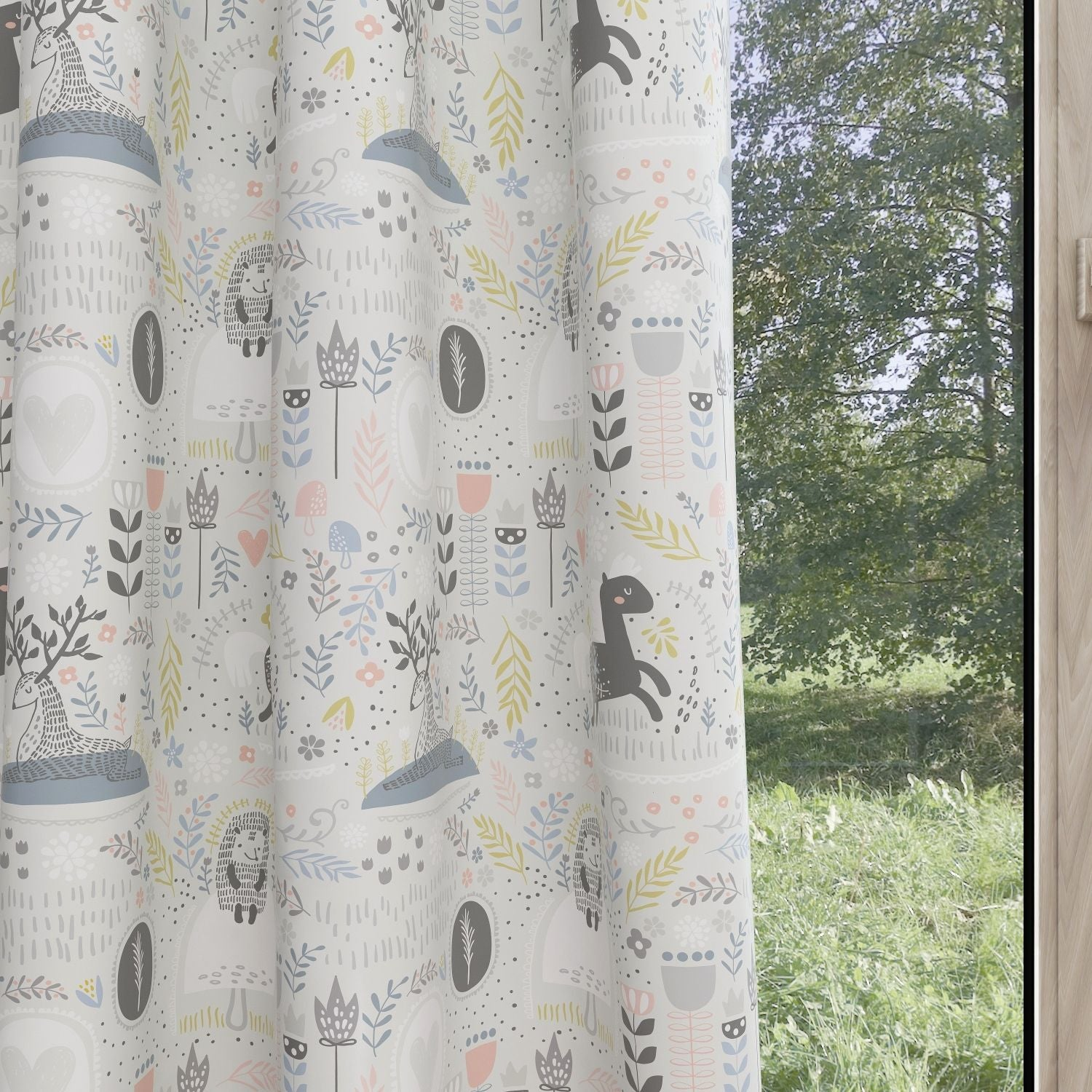 Forest Kids & Nursery Blackout Curtains - Secret Forest