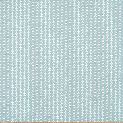Vine Spa Blue Kids Curtains