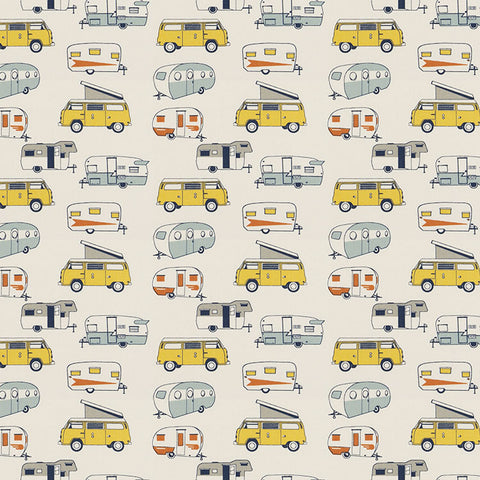 Vintage Camper Maya Macon Kids Curtains