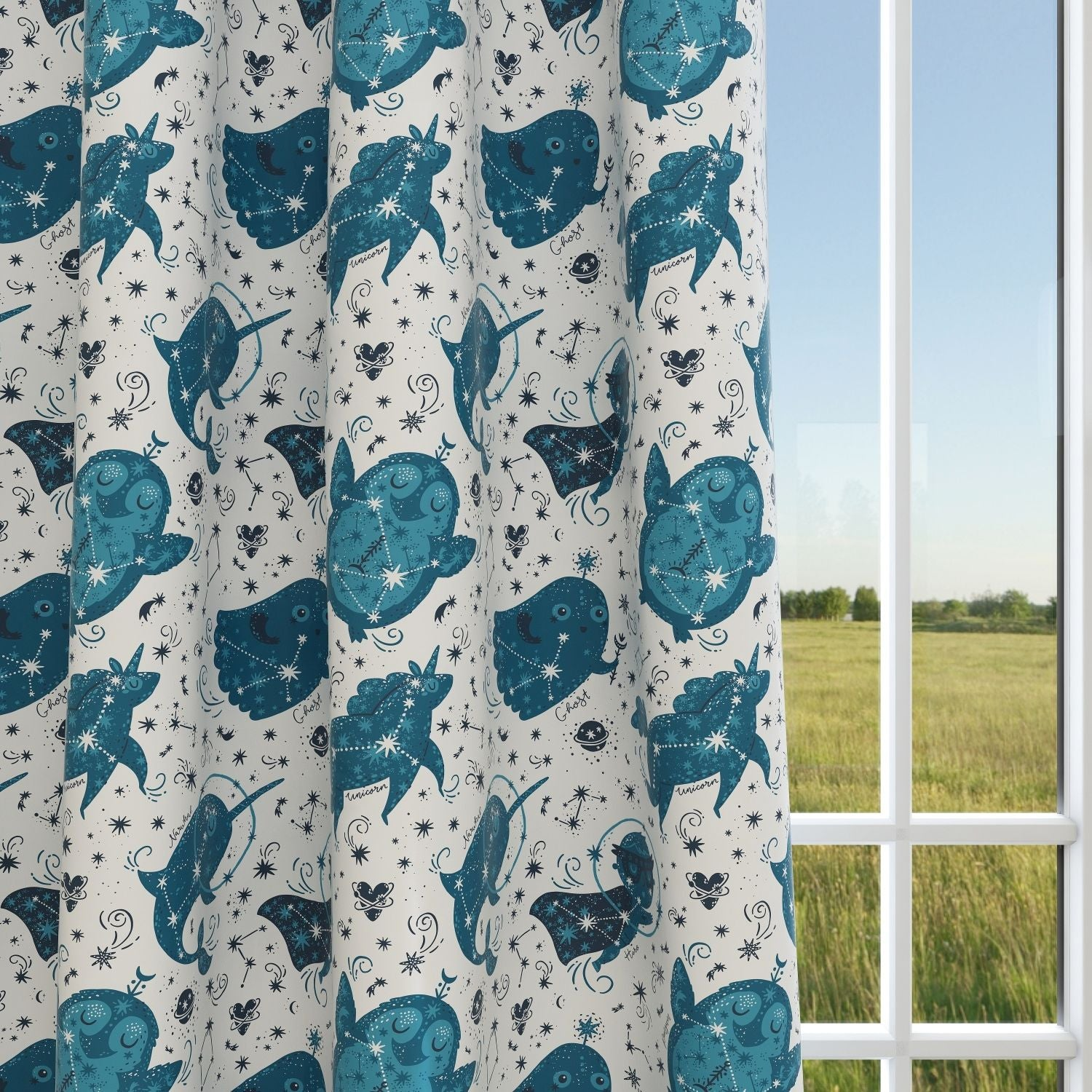 Kids & Nursery Blackout Curtains - Young Stars