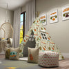 Kids Teepee, Camping Decor Themed Room - Adventurer's Cabin Collection