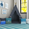 Ahoy, Mate! Navy Kids Teepee