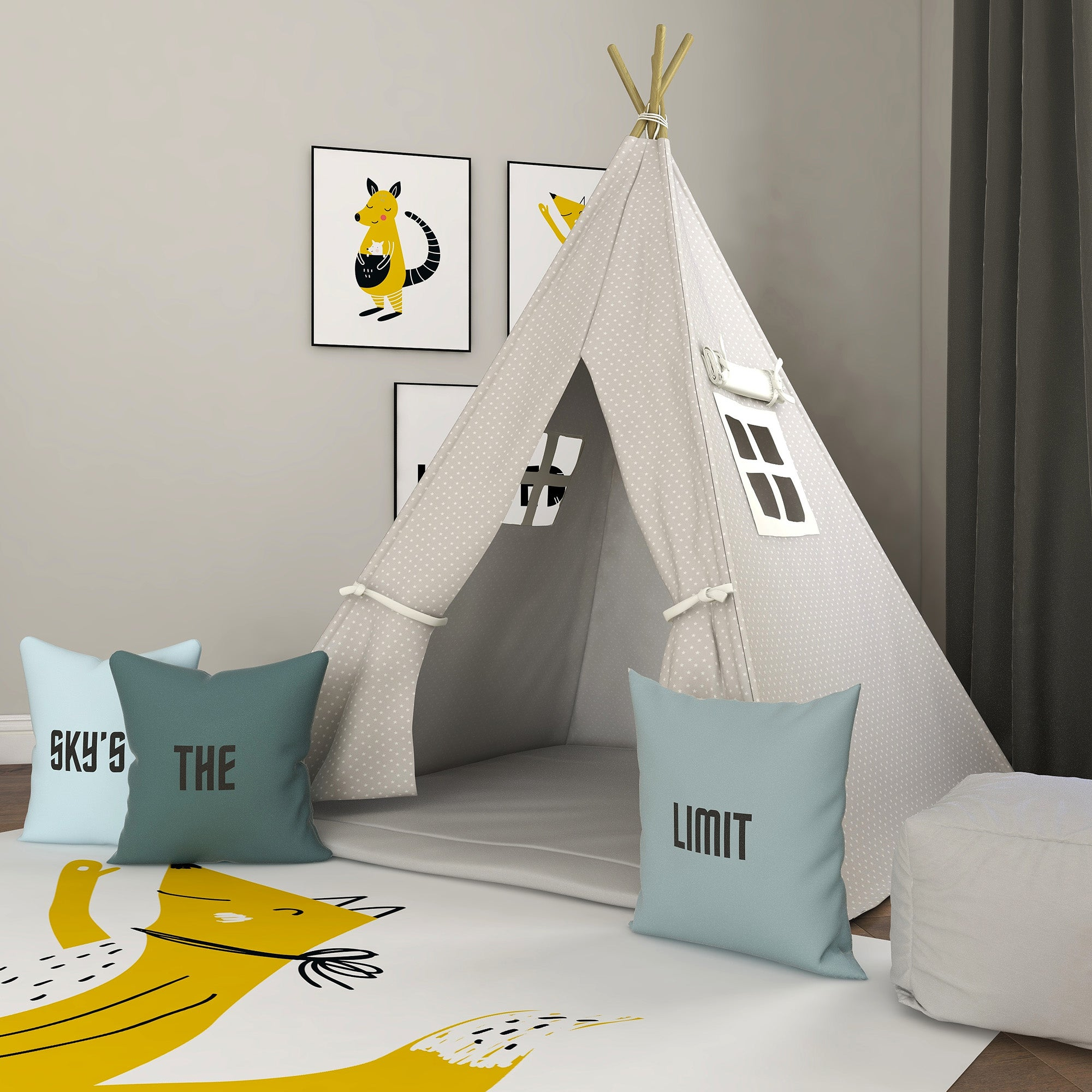 Your Lucky Stars Kids Teepee