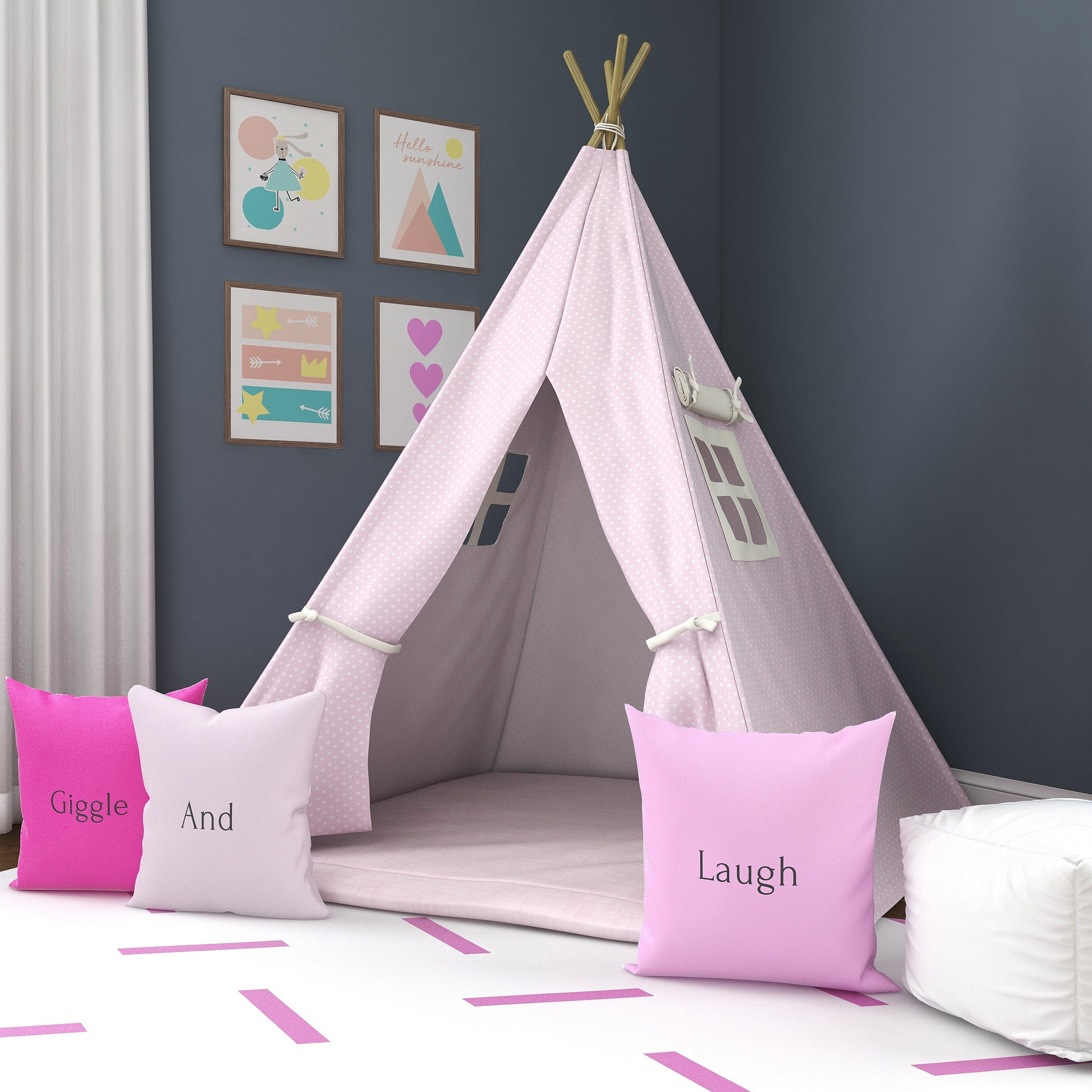 What a Doll Kids Teepee