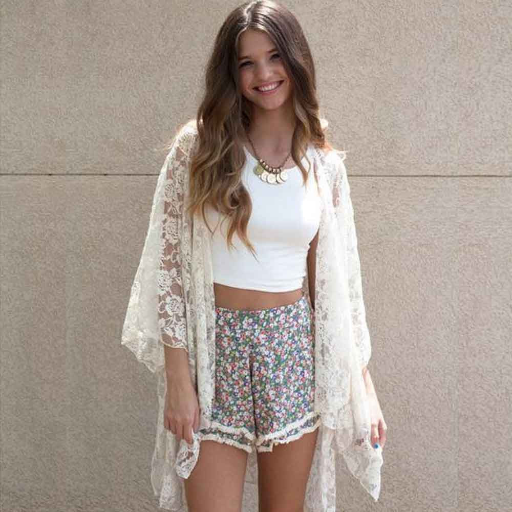 Women's Lace Cover Up