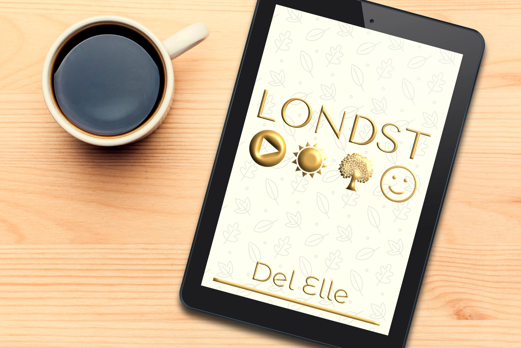 The short story Londst on an ebook reader