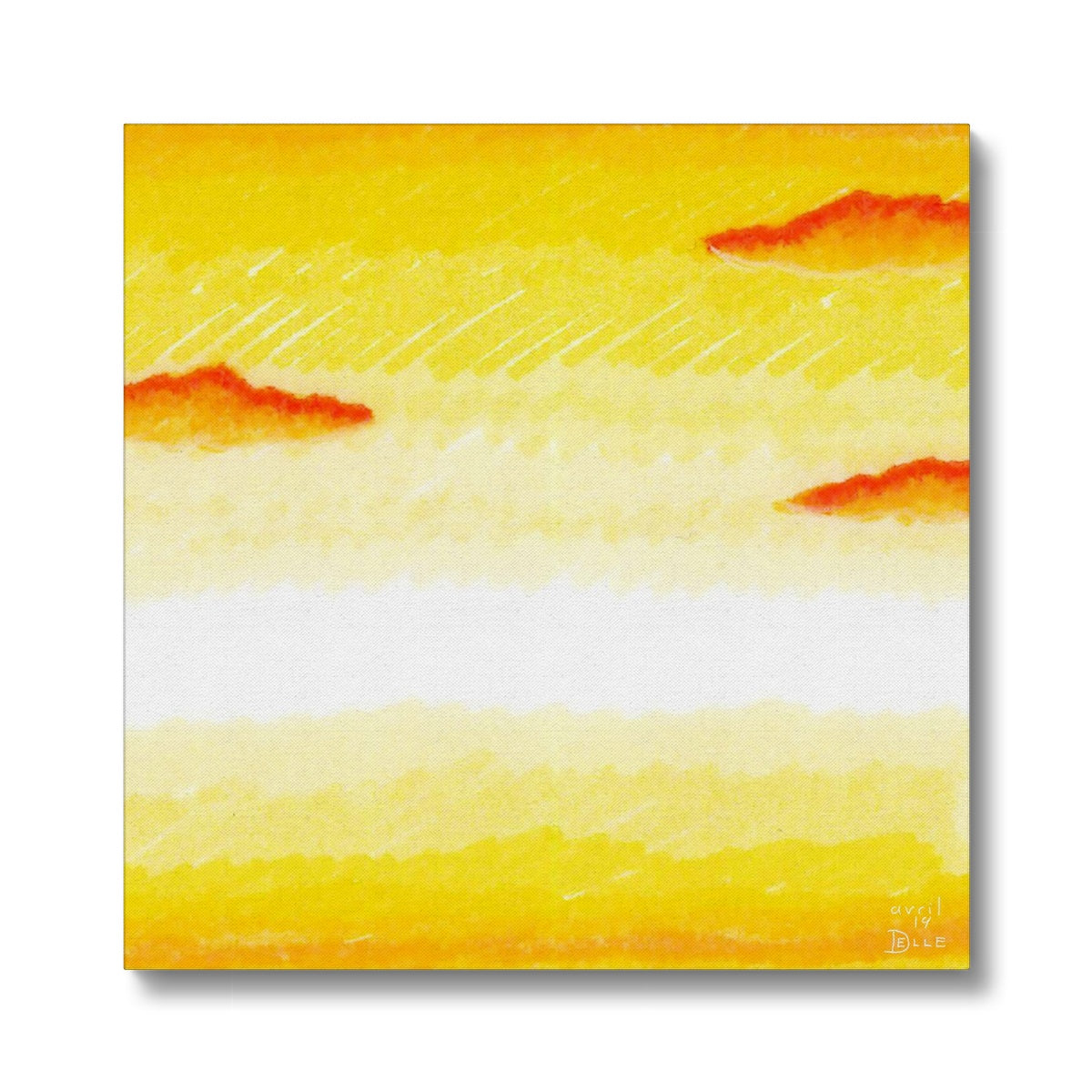 Bright Sunset Canvas
