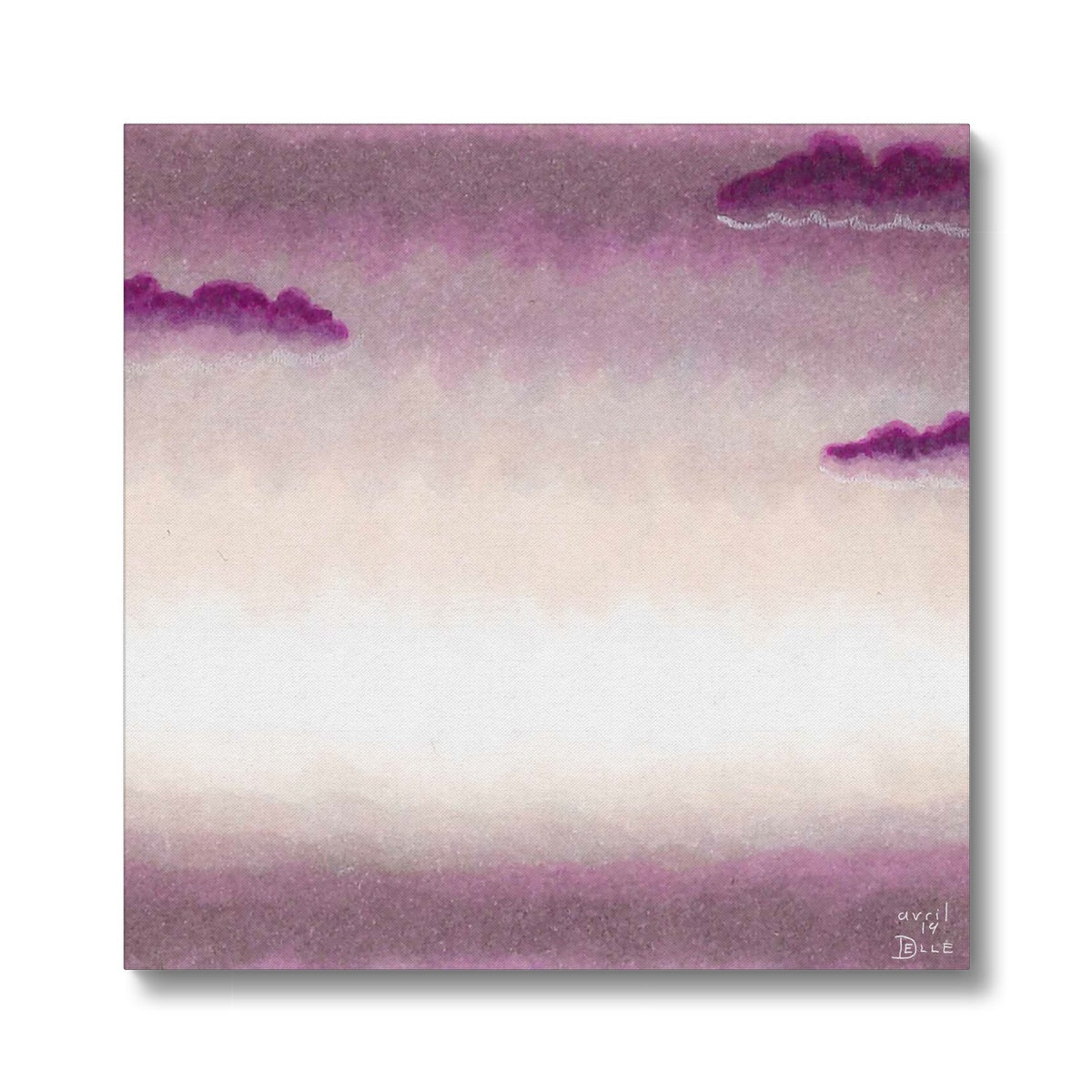 Violet Morning Canvas