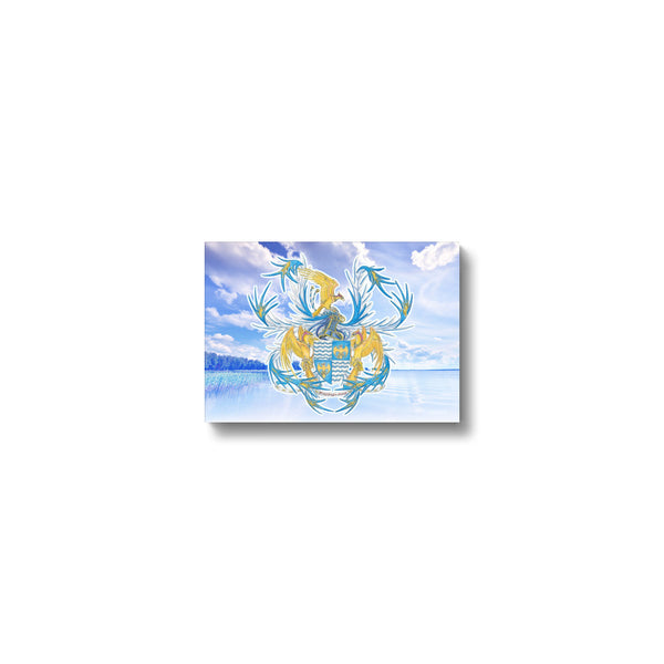 Serene Mosprey-mere Canvas Print in head on, wrap: white, size: 12x18""