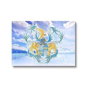 Serene Mosprey-mere Canvas Print in fixedflat, wrap: white, size: 12x18""