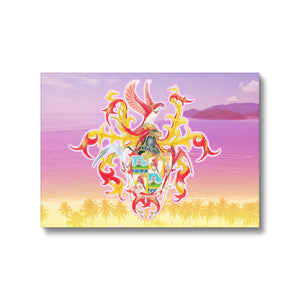 Summer Scarhys Canvas Print in fixedflat, wrap: white, size: 12x18""