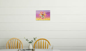 Summer Scarhys Canvas Print in room (kitchen), wrap: white, size: 12x18""