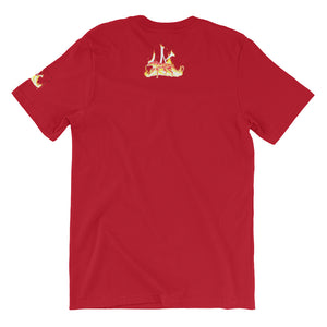 Ruby Fire Phoenix T-Shirt in Red