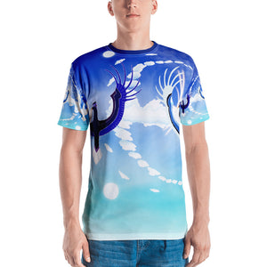 Men's Eagle Crane Swan T-shirt