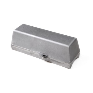 Flagpole Cleat Lock Box with Padlock Tabs for External Halyard