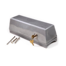 Flagpole Cleat Cylinder Lock Box for External Halyard poles