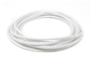 "5/16"" White Halyard Rope with Stainless Steel Cable Core"