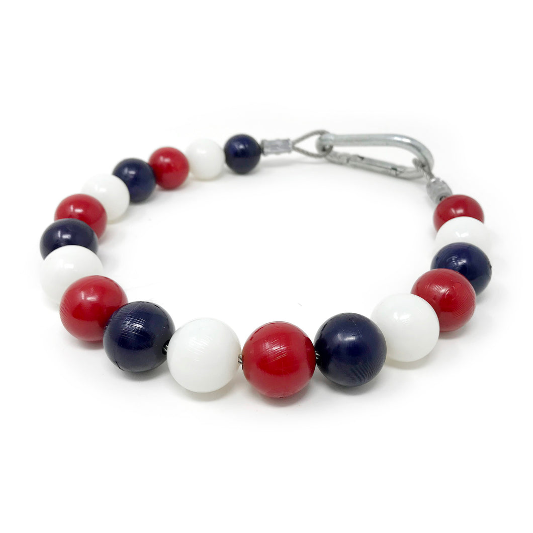 Retainer Ring - USA Red/White/Blue Pattern