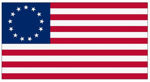 Valley Forge Best Cotton 3' x 5' 13 Star Flag