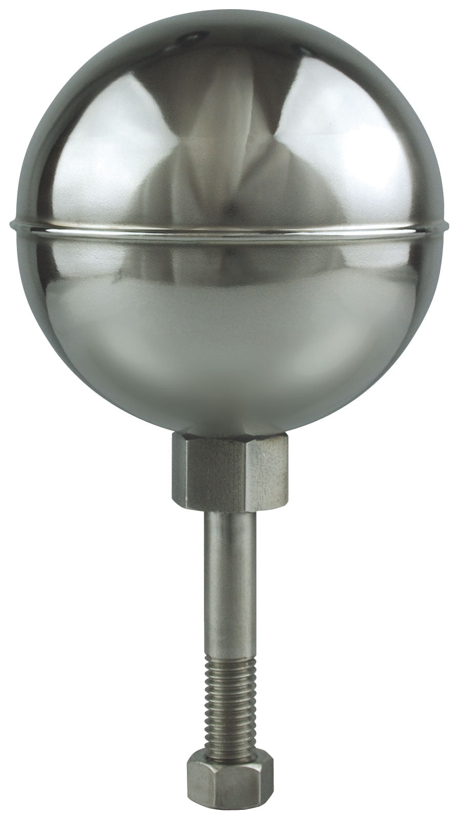 Stainless Steel Ball Ornament - Mirror Finish