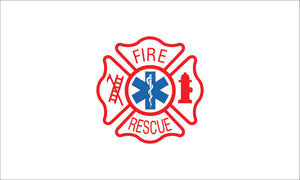 Fire Rescue Nylon Outdoor Flag