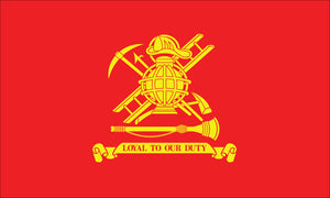 "Firemen ""Loyal To Our Duty"" Flag"
