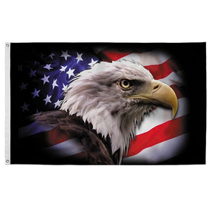 "Valley Forge ""America Strong"" Eagle Flag - 3' x 5'"