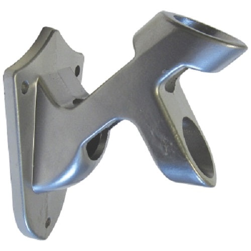 Silver 2 Position Wall Mount Bracket
